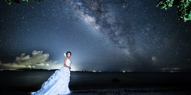 フォトウェディング 石垣島 前撮り ナイトロケーション